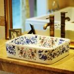banyo dekoratif lavabo modeli