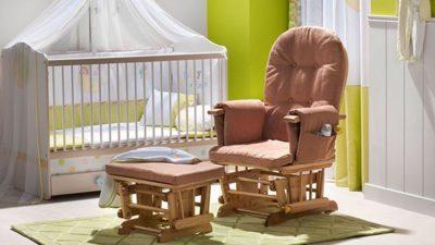 Yeni Moda Bebek Odası Anne Koltuğu Modelleri