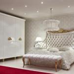 beyaz goz alici yatak odasi modeli