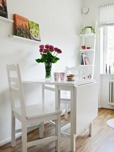 beyaz ikea mutfak masasi
