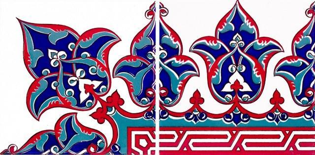 Çini Desenli Dekoratif Fayans Modelleri