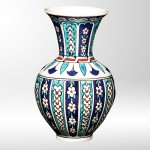cini desenli porselen vazo modeli
