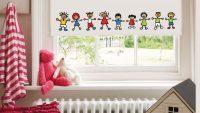 Çocuk Odalarına Özel Dekoratif Perdeler 2015