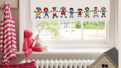 Çocuk Odalarına Özel Dekoratif Perdeler