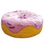 cocuklar için donut şekilli puflar