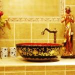 dekoratif banyo lavabolari