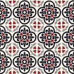 dekoratif desenli karolar