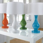 dekoratif renkli abajur modelleri