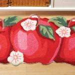 dekoratif sekilli mutfak paspas modelleri