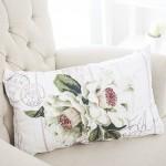 english home beyaz desenli kirlent