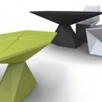 futuristic masa sandalye