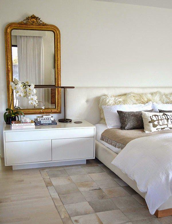 gosterisli yatak odasi aynasi