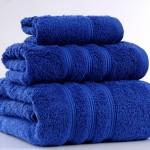 irya home mavi banyo havlu seti