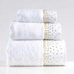 irya home space tasli banyo havlu seti beyaz