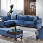 istikbal mobilya kose koltuk takimlari-carla-zumrut-mavi