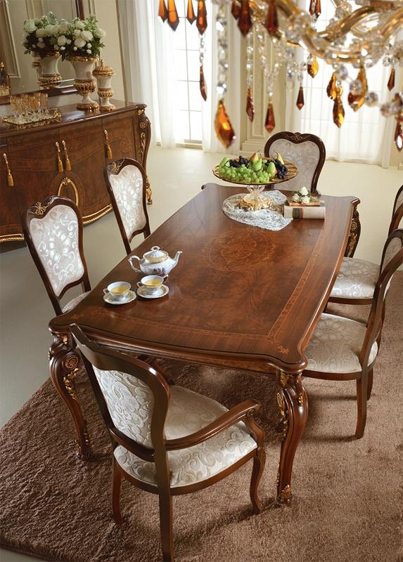 Italyan klasik yemek odasi dekorstyle - Tavoli da pranzo classici ...