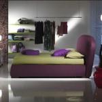 italyan tasarimi modern yatak modeli