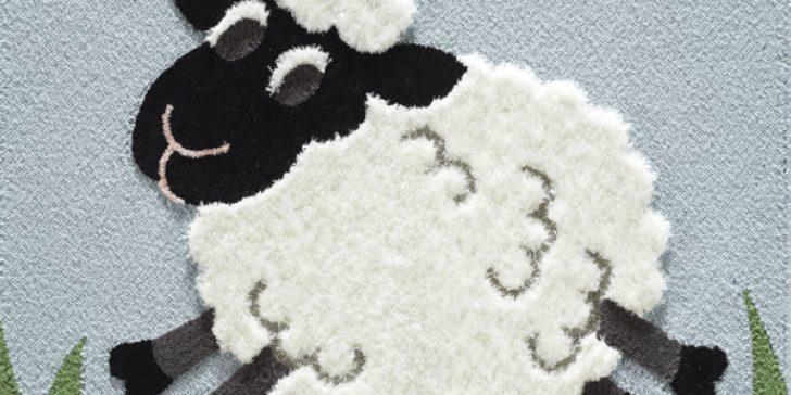Yeni Moda Dekoratif Bebek Odası Halı Modelleri 2015