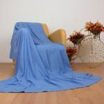 mavi duz polar battaniye