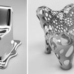 metal futuristik mobilya tasarimlari