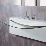 modern cam lavabo modelleri