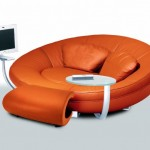 modern futuristic dinlenme koltugu