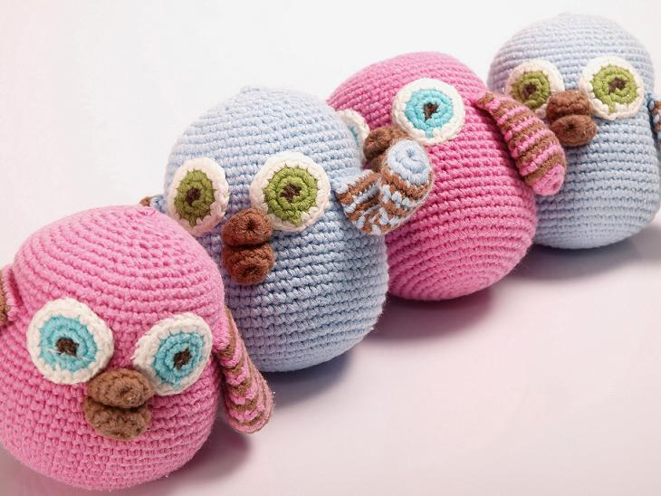 orgu oyucak yavru baykuslar