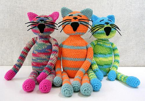 oyuncak orgu kediler