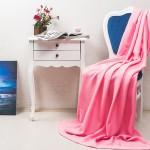 pembe renk polar battaniye