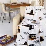 pop-art desenli polar battaniye modeli