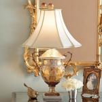 porselen dekoratif abajur