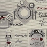 resim desenli yeni moda mutfak halilari