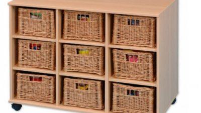 Birbirinden Güzel Hasır Sepetli Çekmeceli Dekoratif Dolaplar
