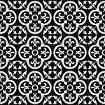 siyah beyaz desenli karolar