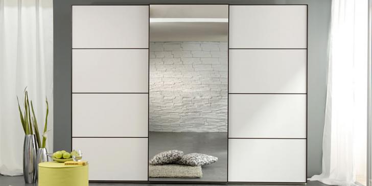Yatak Odalarında Tarz Yaratan Beyaz Gardroplar 2015