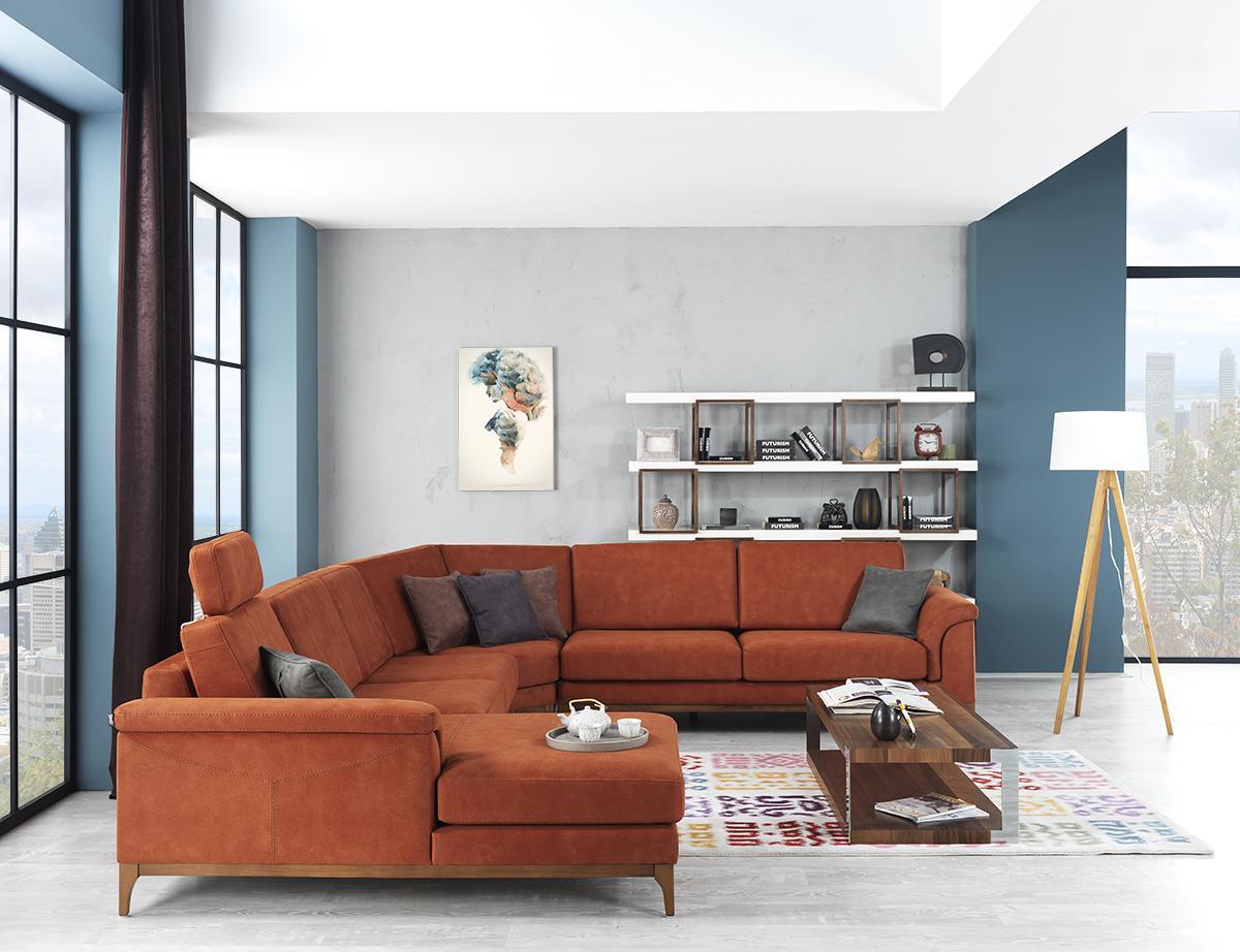 tarz mobilya modern modis kose takimi 2015