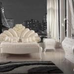 yeni moda avangarde yatak odasi modeli