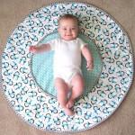 yeni moda bebek yer minderleri