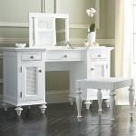 yeni moda beyaz makyaj masasi