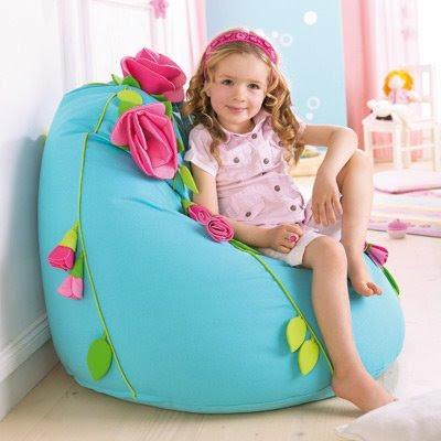 yeni moda cocuk odasi puf modelleri