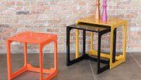 Dekoratif Yeni Moda Zigon Sehpa Modelleri 2015