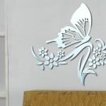 yeni trend dekoratif sticker ayna modelleri