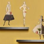 yeni trend dekoratif sticker ayna modelleri 2015
