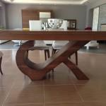 yukselis ev mobilya sabbia yemek masa modeli