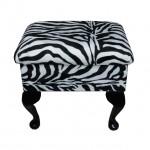 zebra desenli puf modeli