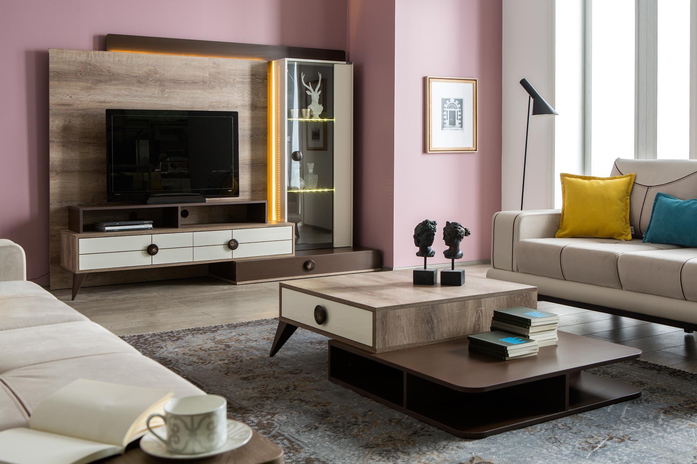Rendi Mobilya Yeni Moda Duvar Üniteleri