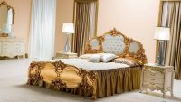 Yeni Trend Gösterişli Lüks Yatak Odası Modelleri 2015