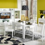 arno beyaz wall yemek odasi