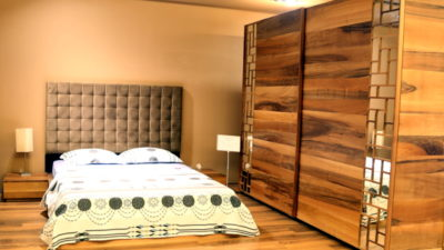 Zett Mobilyadan Son Moda Ahşap Yatak Odaları