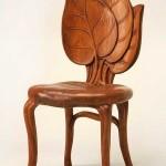 dekoratif ahsap Sandalye Modeli